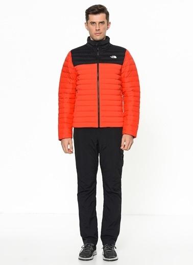 The North Face Stretch Down Erkek Mont Kırmızı/Siyah Kırmızı